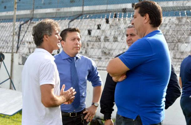 Charles Guerreiro, Thiago Passos, Henrique Custódio e Zeca Pirão